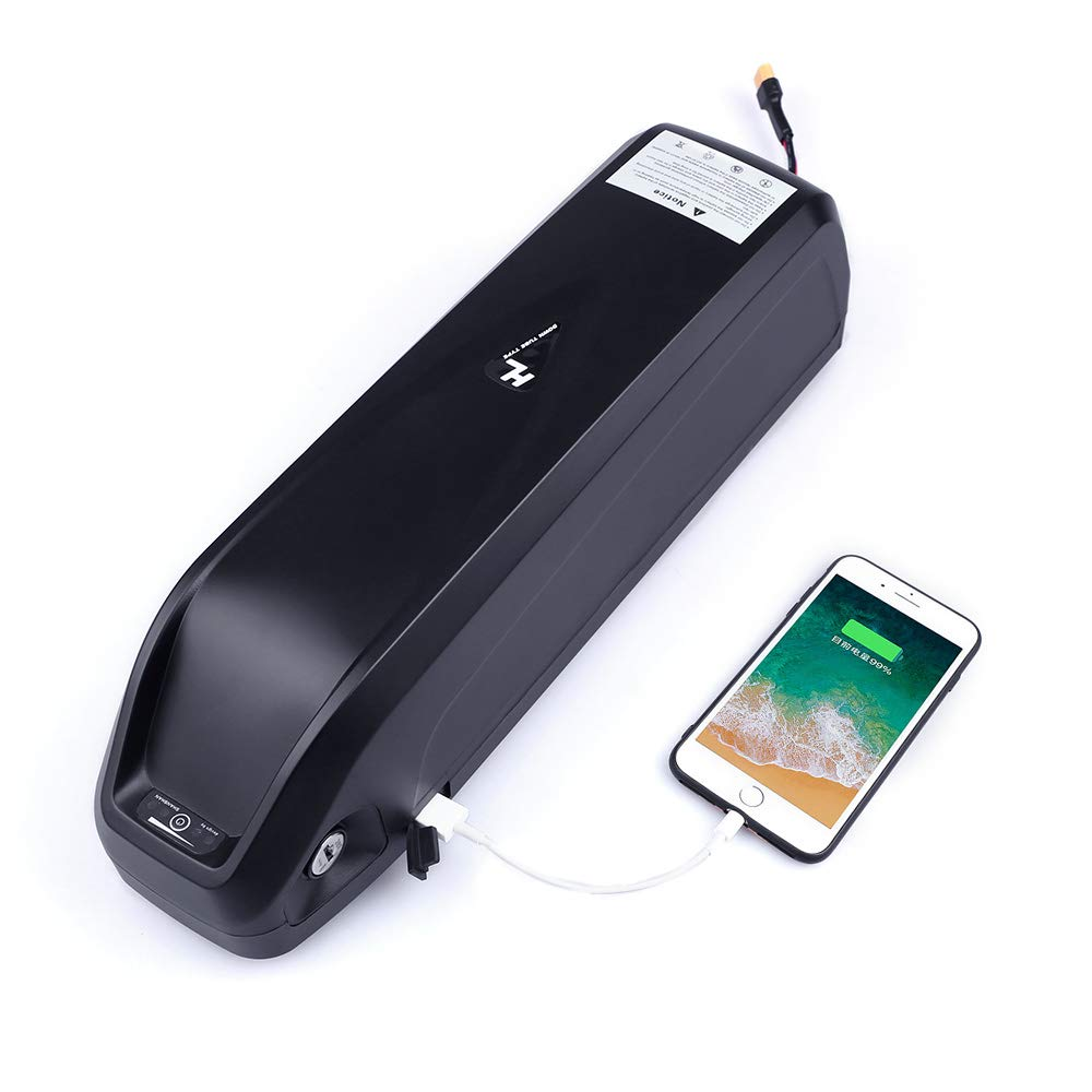 Greenergia Battery with USB 48V 17.5Ah Li-ion Electric Bike Battery for E-Bike with Charger by Greenergia (Image #1)
