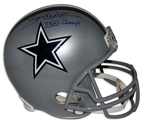 Tony Dorsett Dallas Cowboys Autographed Replica Helmet Inscribed