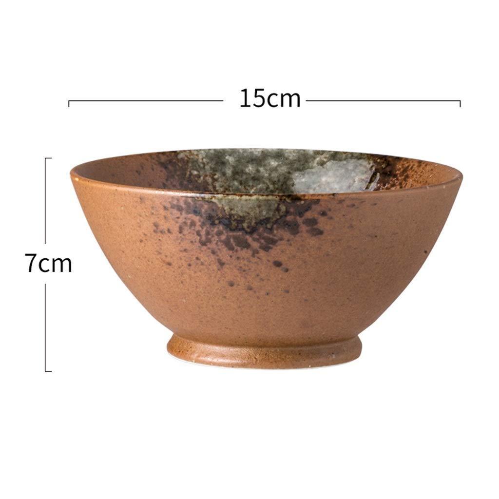 MYXMY - Cuenco de cerámica para Sopa (15,2 cm), diseño Retro ...