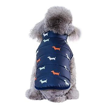 Handfly Abrigo de Invierno para Perros Abrigo de Perrito Abrigos de Chihuahua Ropa para Perros Chaquetas de Perro para Perros Chaqueta de Perro para Perros peque/ños y medianos