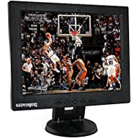 Sourcingbay 12 inch TFT LCD Monitor TV / HDMI / AV / VGA Input Display Computer Screen with Remote Control