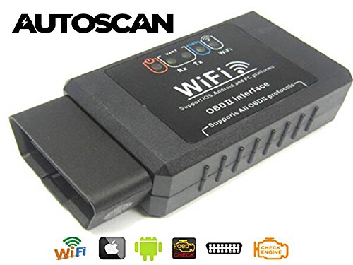 Best OBD2 Scanner | ELM327 OBD II Car Engine Diagnostic Tool | OBD 2 Car Code Reader with Software|Automotive Scan Tool | Easy WIFI Connection to Any Phone|Auto Code Reader for 3000 Performance Codes
