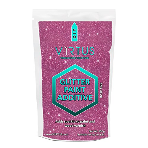 v1rtus-rose-pink-glitter-paint-crystals-additive-100g-35oz-for-emulsion-for-use-with-interior-exteri