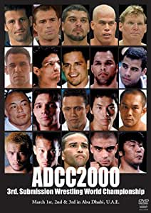 3rd Submission Wrestling World Championship ADCC2000 [DVD]