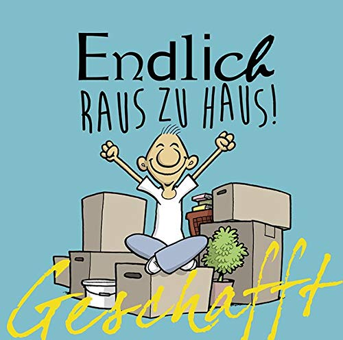 Geschafft: Geschafft! Endlich raus zu Haus! Gebundenes Buch – 5. März 2015 Michael Kernbach Miguel Fernandez Lappan 3830343515