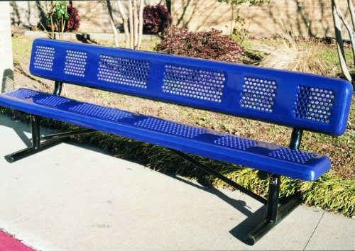Webcoat Inc. B8WBPERFP Perforated Style Benches