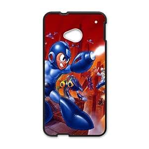 Character Phone Case Capcom Mega Man For HTC One M7 NC1Q02292