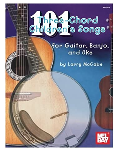 Amazon com: 101 Three-chord Children's Songs for Guitar