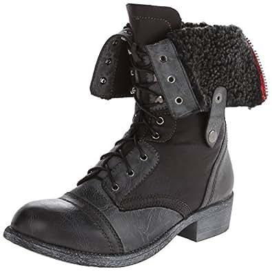 Amazon.com   Very Volatile Women's Stanton Motorcycle Boot