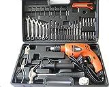 Black & Decker HD5513 - 13mm Variable Speed Reversible Hammer Drill & Handtool Kit (Black/Orange)