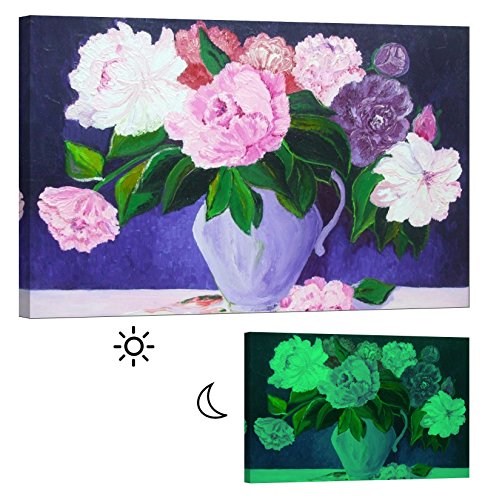 LightFairy Glow in the Dark Canvas Painting - Stretched and Framed