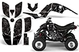 2001-2005- Yamaha Raptor 660 AMRRACING ATV Graphics Decal Kit-Reaper-Black