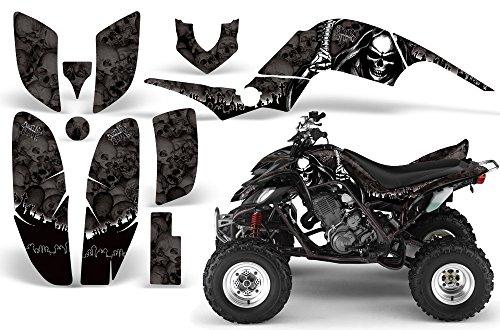 2001-2005- Yamaha Raptor 660 AMRRACING ATV Graphics Decal Kit-Reaper-Black