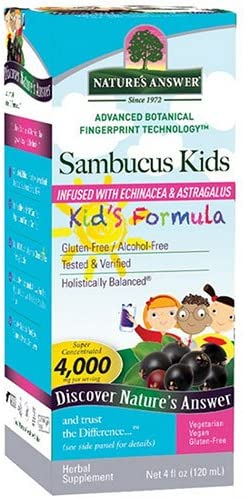 Natures Answer Liq Sambucus Kids Frmla