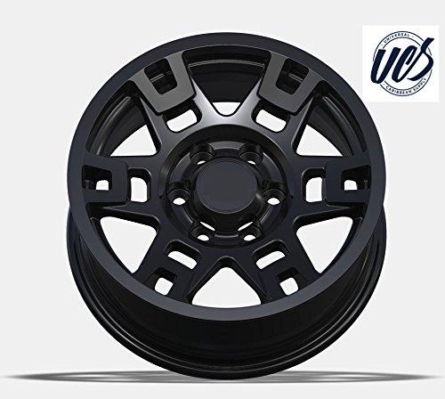 """17"""" Toyota TRD Wheel Black 4Runner, FJ Cruiser, Tacoma Set ..."""