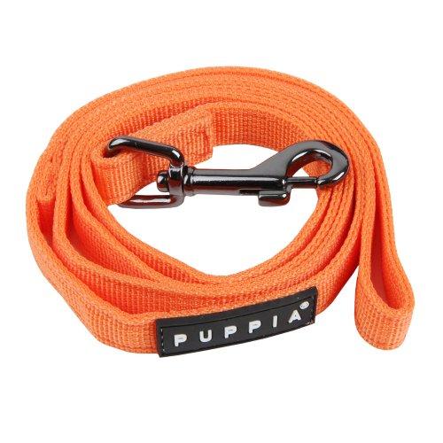 Authentic Puppia Two Tone Lead, Orange, Small