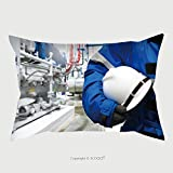Custom Microfiber Pillowcase Protector Engineer Control Compressor System For Cold Room In The Plant 499002475 Pillow Case Covers Decorative