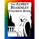 The Aubrey Beardsley Coloring Book: Elegant Black and White Art Nouveau Illustrations from Victorian London (Historic Images) (Volume 9)