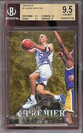 e98f847a7 Amazon.com  1994-95 sp  2 JASON KIDD dallas mavericks rookie card ...