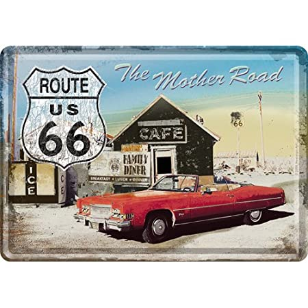 Nostalgic-Art Have A Coffee Metal Postcard Sign with Envelope
