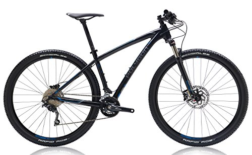 "Polygon Bikes Siskiu29 6 Hardtail Mountain Bicycles, Black, 15.5""/Small"