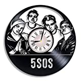 5 Seconds of Summer Music Band Vinyl Record Wall