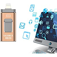 USB iflash Drive for iOS, 128 GB Flash Drive for iPhone,...