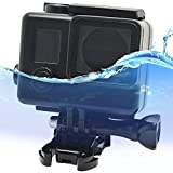 First2savvv GO4+-FSK-01 black 30M Waterproof Housing Diving Swimming Protective case cover for GoPro Hero 3+ 4