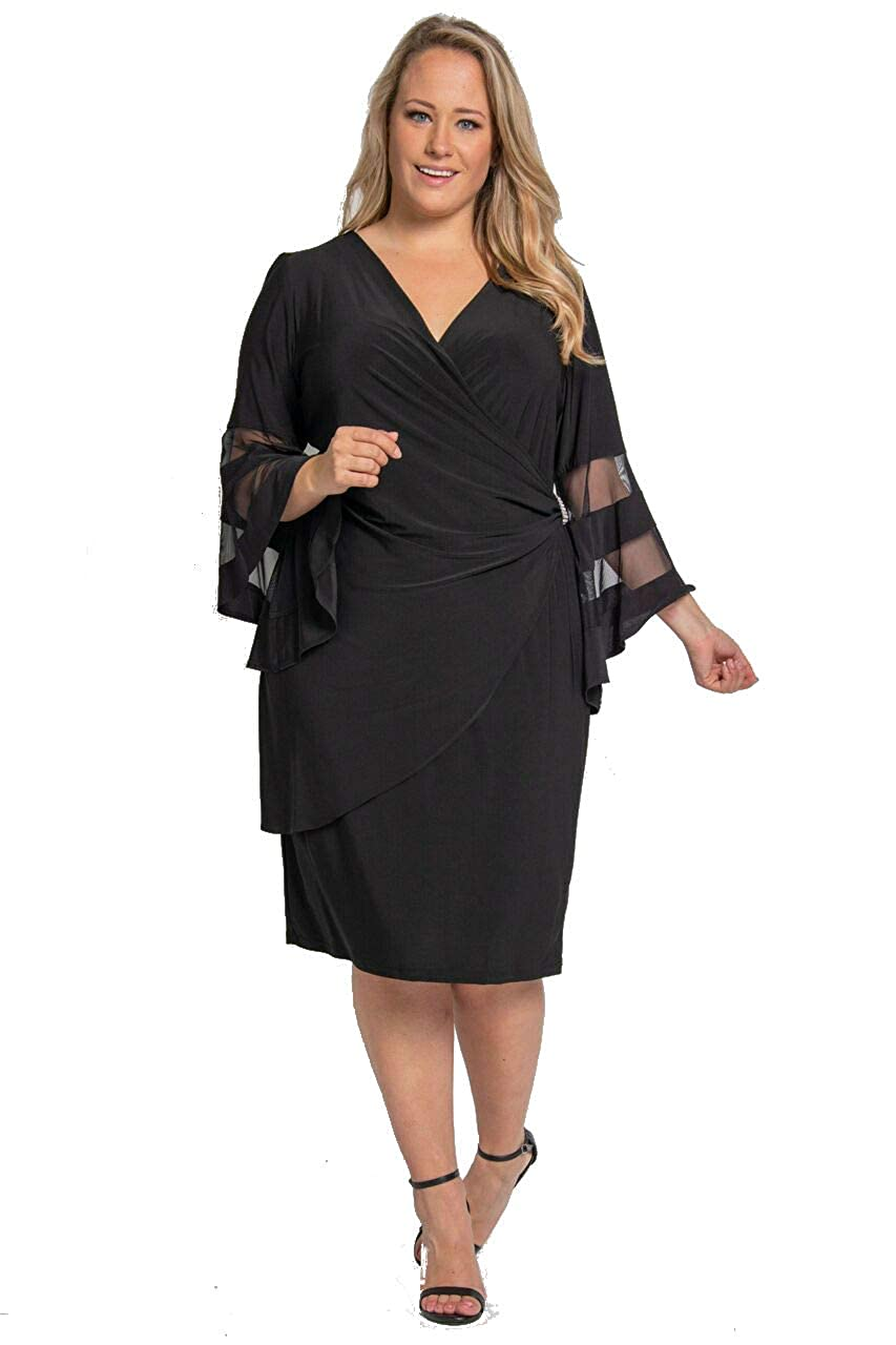 R&M Richards Mother of The Bride Plus Size Short Dress at Amazon ...