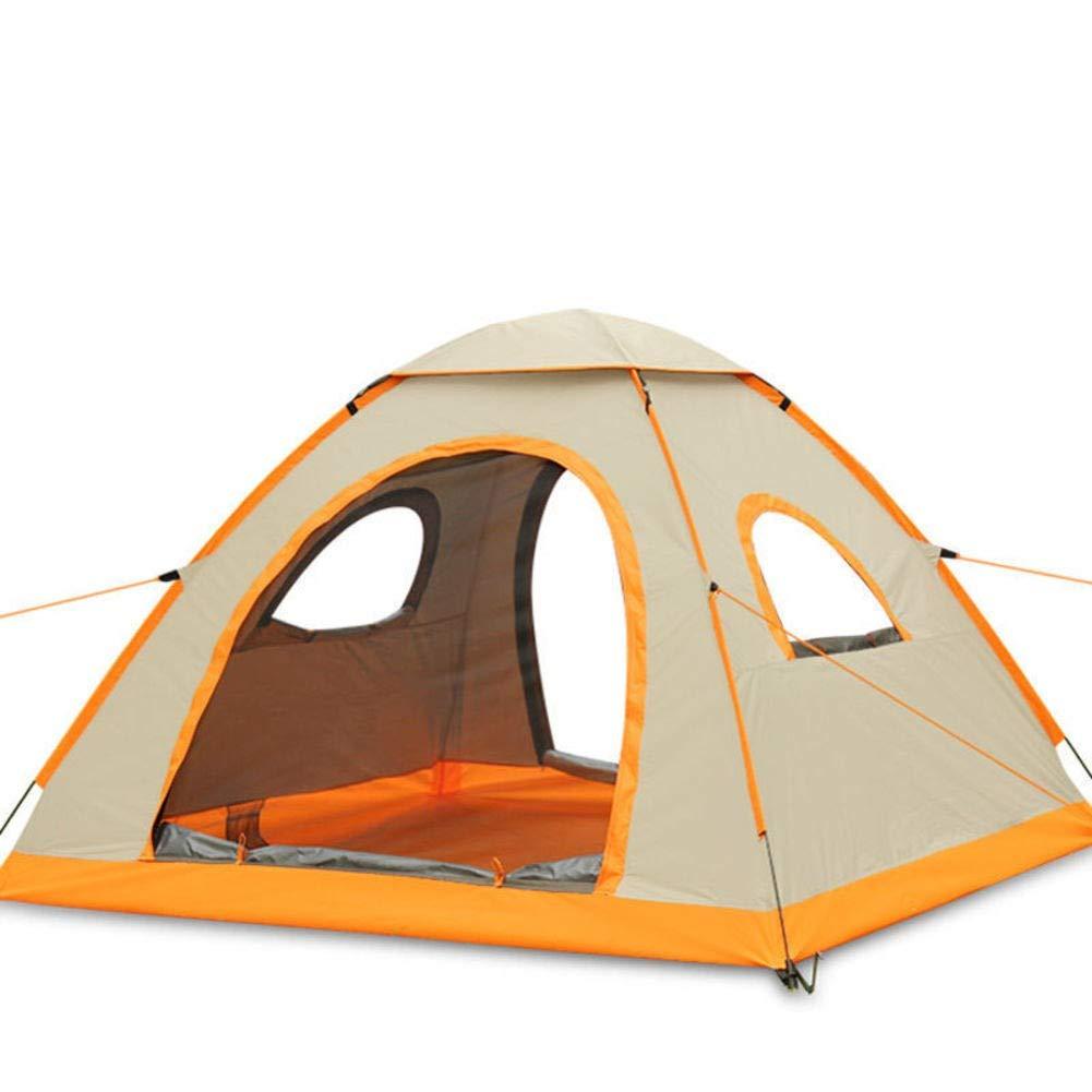 HUIYUE 3-4 Personen Camping Zelt,Automatische Geschwindigkeit öffnen Zelte,Hochwertiges Zelt,Portable Falten Wandern Zelte