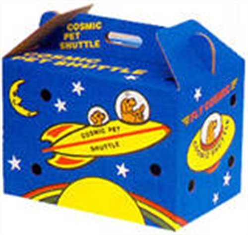 Cosmic Pet Shuttle Cardboard Carrier by Cosmic (Pet Shuttle)