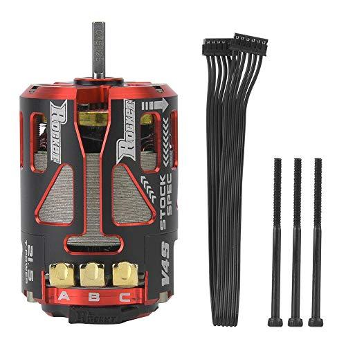 (Woyisisi Rocket SPEC 540 V4S Sensored Brushless Motor for RC Racing Car Upgrade Waterproof High Performance(02))