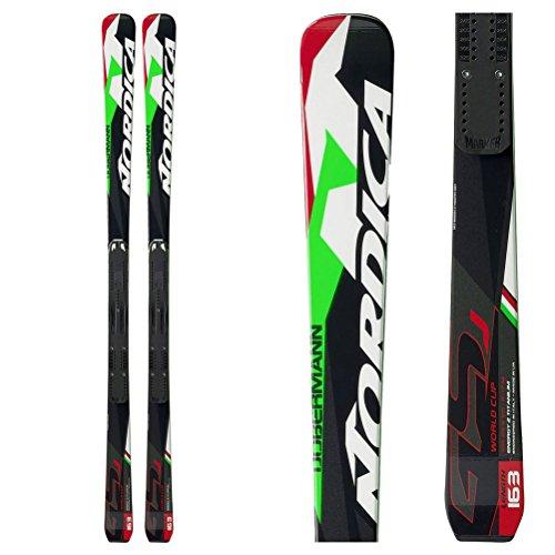 Nordica Junior Skis - Nordica 2016 Dobermann GSJ Junior Skis w/Marker Race Plate (142 cm)