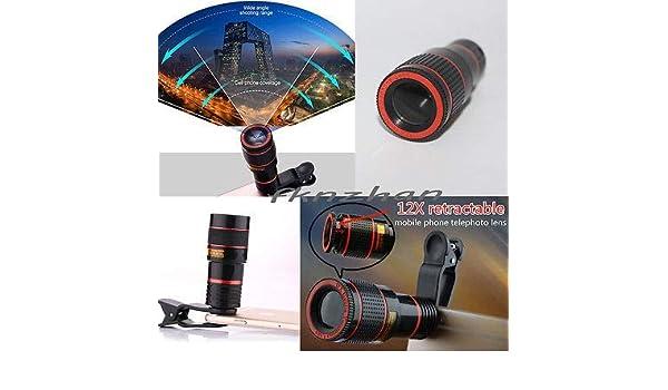 Amazon.com: fidgetfidget clip on 8x 12x optical zoom hd telescope