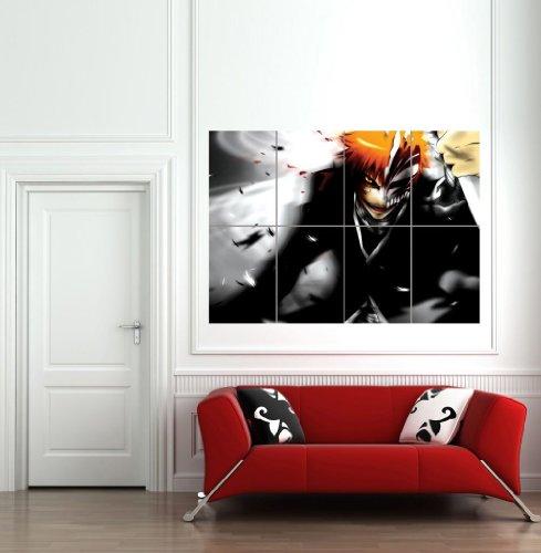 BLEACH KUROSAKI ICHIGO GIANT WALL ART POSTER B570