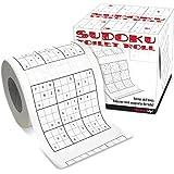 Invero Papier toilette à motif Sudoku 25 m
