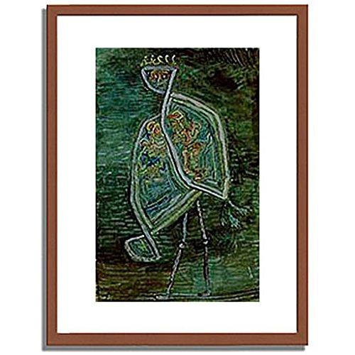 パウルクレー 「Phoenix coniugalis. 1932. 」 インテリア アート 絵画 壁掛け アートポスターフレーム:木製(茶) サイズ:S(221mm X 272mm) B00MSW9KVS 1.S (221mm X 272mm)|1.フレーム:木製(茶) 1.フレーム:木製(茶) 1.S (221mm X 272mm)