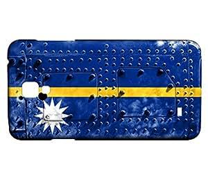 Funda Carcasa para Galaxy S4 Mini Bandera NAURU 06