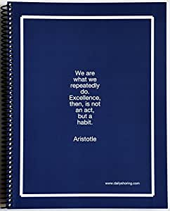 """""""Daily Shoring"""" 3 Month Planner: A Daily / Weekly / Monthly Organizational, Productivity, and Wellness System Developed by a Psychologist"""
