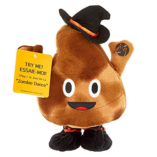 Claire's Girl's Dancing Halloween Poo Plush Toy