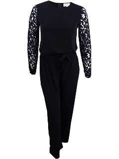 aaec615efb7 Amazon.com  Michael Michael Kors Womens Metallic One-Shoulder ...