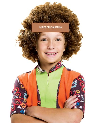 Bliss Pro's BROWN Children's Afro Wig Ha - Afro Fro Wig Shopping Results
