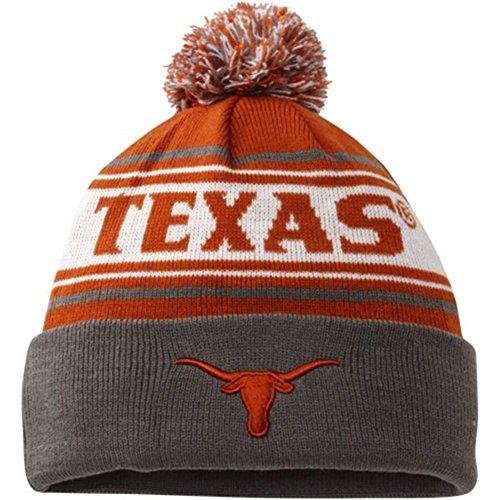 Texas Longhorns Beanie - Texas Longhorns Top of the World Ambient Cuff Knit