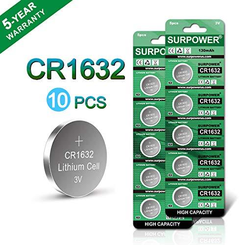 【5Year Warranty】Surpower Cr1632 3V