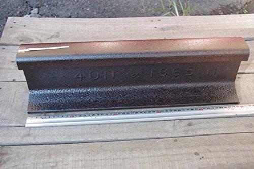 国鉄・JR使用、40kgN鉄道レール刻印付 50cm切断の商品画像