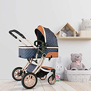 StarAndDaisy Ultra Luxury Newborn Stroller...