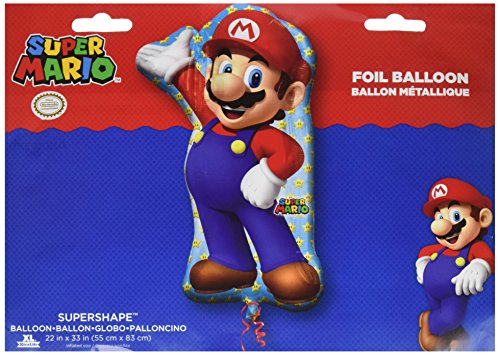 Anagram 33 in. Mario Bros Shape Foil Balloon for $<!--$3.49-->