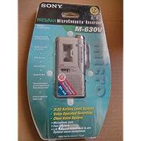 Sony MicroCassette Recorder M-630V
