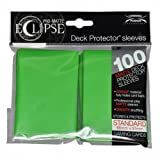 PRO-Matte Eclipse Lime Green Standard Deck Protector sleeves (100 count pack)
