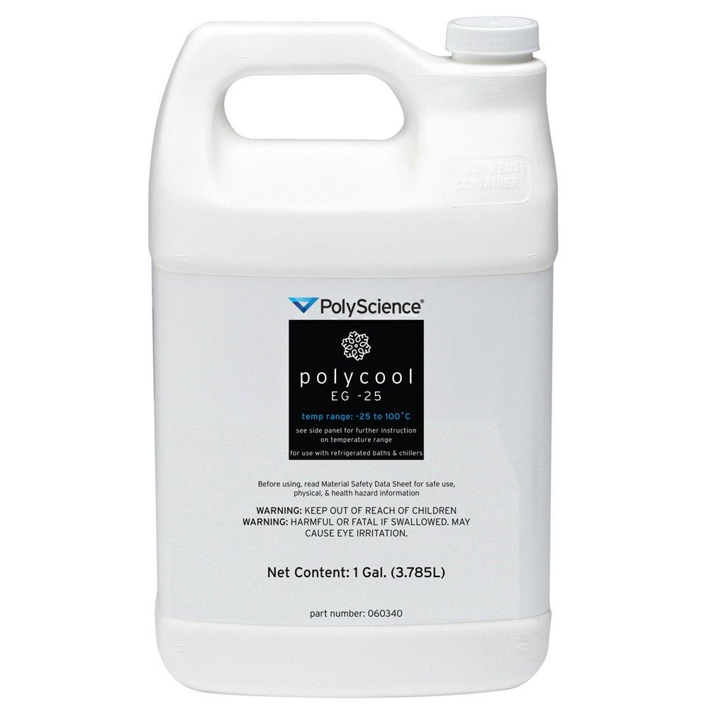 Polyscience Bath Fluid Ethylene Glycol, 1 Gallon Quantity
